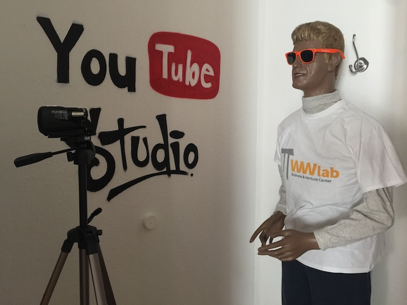 WW Lab: Youtube-Studio